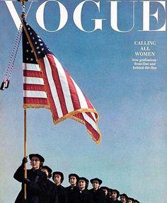 Bom dia! O que @Madonna @KatyPerry @OliviaWilde @Cher Julianne Moore e Scarlett Johansson têm em comum? Além do admirável talento elas estão entre as milhares de mulheres que já confirmaram presença na @WomensMarch ato anti-Trump marcado para o próximo sábado (21.01) em Washington D.C. um dia após a posse do novo presidente dos EUA que assume o posto hoje. Saiba mais no link da bio. (Regram @voguemagazine / Foto: Horst P. Horst Vogue julho de 1943)  via VOGUE BRASIL MAGAZINE OFFICIAL…