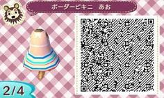 Peachy bow skirt paired with a simple white & gray striped tee. Animal Games, Just Peachy, Animal Crossing Qr, New Leaf, Blog, Lily, Coding, Qr Codes, Game Dev