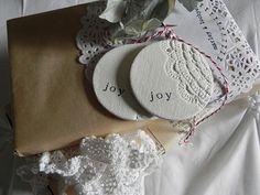 Joy tags #claytags #marleyandlockyer