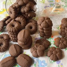 Spritz Cookies, Cannoli, Confectionery, Truffles, Baked Goods, Cookie Recipes, Almond, Food And Drink, Xmas