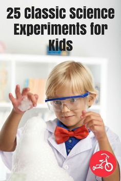 25 Easy Science Experiments for Kids- Easy, at-home science experiments can be done right in your own kitchen (or yard) and usually with ingredients you already have at home or can easily get. #scienceexperiments #activitiesforkids #STEAM #STEM #science