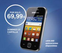 Consigue el Samsung Galaxy Y con el ABC por sólo 69,99 euros... ¡Descúbrelo en http://ofertasdeprensa.offertazo.com/samsung-galaxy-y-abc/ !