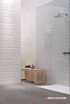 3D Wall Design Diamond. Geometrical design relief. | @atlasconcorde | Made in Italy | atlasconcorde.com