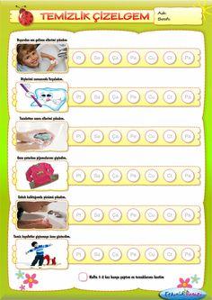 Davranış Çizelgeleri Seti-Namaz Çizelgeli Kindergarten Activities, Preschool Activities, School Teacher, Pre School, Behaviour Chart, Baby Play, Kids Education, Montessori, How To Plan