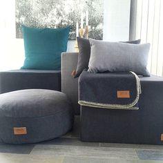 #SKRIVER Sitzwürfel - dekorativ, fest und besonders - Gefunden auf #KONTOR1710