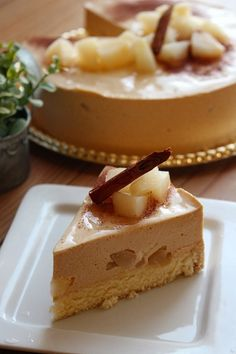 Japanese Sweets, Mousse Cake, What You Eat, Dessert Recipes, Desserts, Cheesecakes, Yummy Cakes, Caramel, Food And Drink