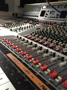 Neve 55 series console at dBs Music