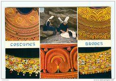 Cartes Postales / Broderie - Delcampe.net