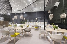 Retail Design Blog Brunner stand at Orgatec 2014 by Ippolito Fleitz Group, Cologne – Germany