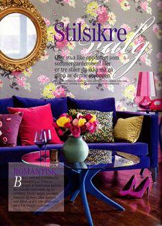 bright color bedroom