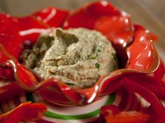 Redneck Hummus (made with boiled peanuts instead of chickpeas)!