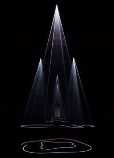 Esculturas de luz!
