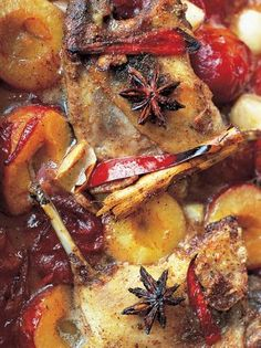 sweet duck legs cooked with plums & star anise Jamie Oliver Food Jamie Oliver (UK) Duck Leg Recipes, Other Meat Recipes, Fish Recipes, Perfect Roast Beef, Goose Recipes, Peking Duck, Roast Beef Recipes, Get Thin, Star Anise