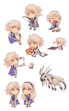 afer what happened Fire Emblem Fates Corrin, Fire Emblem Games, Fire Emblem Characters, Fire Emblem Awakening, Character Design Animation, Anime Guys, Game Art, Chibi, Drawings