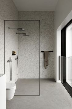 Modern Bathroom Design, Bathroom Interior Design, Home Interior, Bath Design, Minimalist Bathroom Design, Minimalist Small Bathrooms, Tile Design, Luxury Interior, Modern Small Bathrooms
