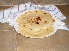Low salt tortillas