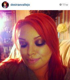 Red Hair & Makeup Follow on Instagram @desiraevallejo