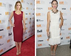 """Emily Blunt was no doubt saved from going loopy at TIFF by having a few days between her premieres. The British actress had the benefit of being on the opening night red carpet for """"Looper,"""" bringing along hubby John Krasinski and donning an elegant wine-coloured Roland Mouret dress. Four nights later, she was back on the carpet with co-star Colin Firth to promote """"Arthur Newman."""" Firth's wife is the brain child behind the Green Carpet Challenge,..."""