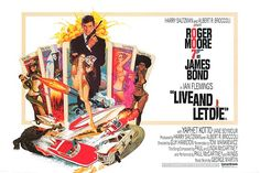 live and let die poster - Google Search