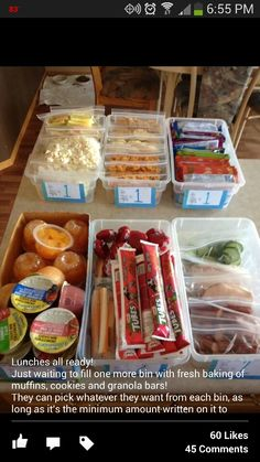 Have the kids make their own lunches for school :)