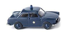 "WIKING SORTIMENT - KLASSIK EDITION 1:87 - Polizei - VW 1600 Limousine ""Berlin"""