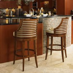 Tommy Bahama by Lexington Home Brands Ocean Club Cabana Swivel Bar Stool - With its eclectic mix of modern design, coastal chic, and upscale in appeal, the Tommy Bahama Home Ocean Club Cabana Swivel Bar Stool is...