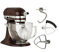 My Espresso Kitchen Aid Stand Mixer...best kitchen appliance to have.