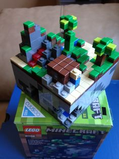 Lego Minecraft. My brother would love that (: