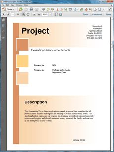 Civil Engineering Construction Sample Proposal  The Civil