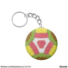 Shop for customizable Colorful keychains on Zazzle. Buy a metal, acrylic, or wrist style keychain, or get different shapes like round or rectangle! Round Button, Different Shapes, Color Patterns, Crochet Earrings, Buttons, Colorful, Abstract, Modern, Summary