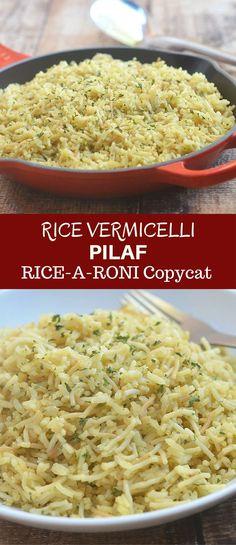 Rice Recipes, Side Dish Recipes, Pasta Recipes, Dinner Recipes, Cooking Recipes, Healthy Recipes, Copycat Recipes, Cooking Stuff, Chef Recipes