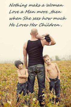 Cute dad/kids photo idea