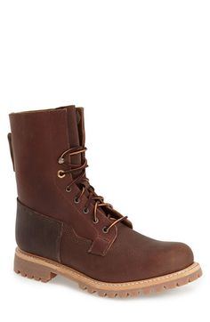 Free shipping and returns on Timberland 'Tall Lineman' Boot (Men) at Nordstrom.com. Two-toned laces accent a hearty boot constructed from hand-stained, full-grain leather and set on a durable lug sole.