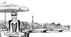 Je skorá jeseň a vy kráčate po Champs Elysées. Vtom ju zbadáte! Nápadne vyčnieva z davu. Má oblečené jednoduché čierne šaty a balerínky. Vyzerá znepokojivo dobre, aj keď vlasy má nedbalo upravené a tvár jej zvýrazňuje len krvavočervený rúž. Parížanka.