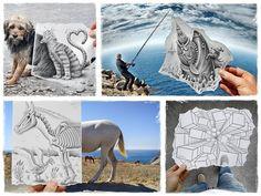 Voici le transfert de mon article sur Ben Heine daté de 2012. Benjamin Heine artiste belge, a créé toute une série d'œuvres intitulée Pencil vs Camera dans lesquelles il insère un croquis réaliste …