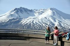 The Mt. St. Helen's Visitor's center info/day trip ideas.