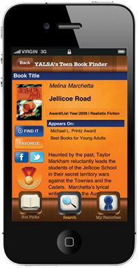 YALSA's Teen Book Finder is a free app to help teens, parents, librarians and library staff, educators, and anyone who loves YA literature access to the past three years' of YALSA's awards and lists on their smartphone. Library App, Teen Library, Library Services, Library Programs, Local Library, Library Ideas, Best Books For Teens, Apps For Teens, Best Books To Read