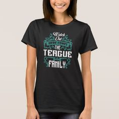 The TEAGUE Family Gift Birthday T Shirt