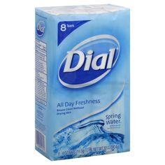 Dial All Day Freshness Spring Water Antibacterial Deodorant Bath Soap Bar « Blast Groceries