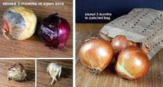 HOW TO STORE YOUR ONIONS AND GARLIC THE CORRECT WAY SO THEY LAST FOR MONTHS