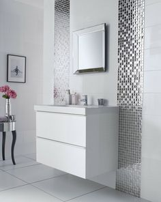 Peinture carrelage salle de bain – idées de motifs et couleurs ...