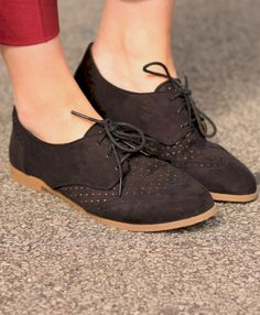 Autumn Oxfords. A little bit hipster ill admit but i do like them.
