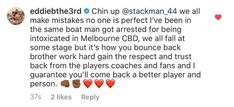 We All Make Mistakes, No One Is Perfect, Melbourne Cbd, Your Brother, Athletes, Things That Bounce, Work Hard, Positivity, Everyone Makes Mistakes