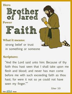 This LDS Mom: Scripture Heroes -- posters and teaching ideas for scripture… Kids Church, Church Ideas, Bible Heroes, Lds Books, Lds Scriptures, Fhe Lessons, Family Home Evening, Church Activities, Book Of Mormon