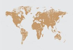 Our partner page illustratexv has launched their summer sale grunge world map cream vector gumiabroncs Choice Image