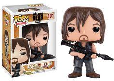 Walking Dead POP! Television Vinyl Figur Daryl Dixon (Rocket Launcher) 9 cm