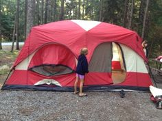10 smart tips for camping with children for the first time. This shows up AFTER we get back from our camping trip!