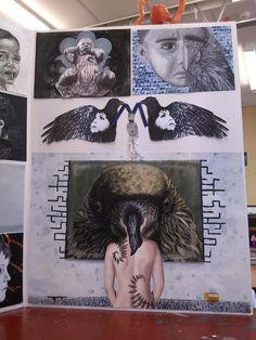 Sorry bout the bad photo. about child neglect NCEA ART - Second Board Portfolio Examples, Art Portfolio, Bad Photos, Maori Art, Sketchbook Pages, Photo Viewer, High School Art, High Art, Art Inspo