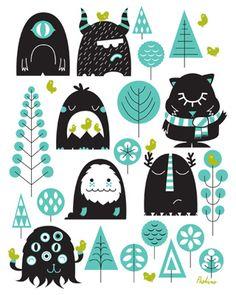 Poketo! Peskimo - The Numerical Monster Forest