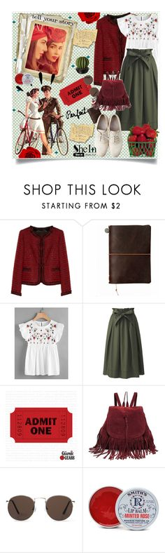"""shein contest"" by imnotyourstyle ❤ liked on Polyvore featuring Alice + Olivia, Uniqlo, Maison Margiela, MANGO, Old Navy, Rosebud Perfume Co. and Tim Holtz"